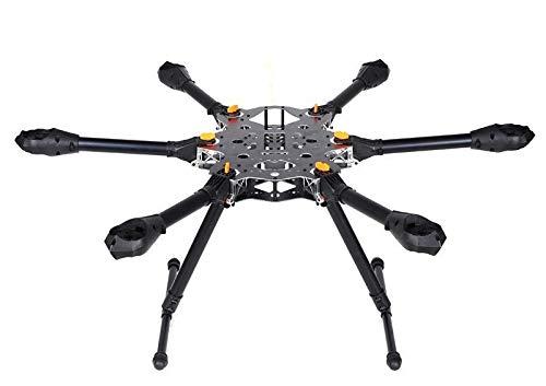 SAUJNN X-CAM FH800 6 axis 800mm Folding Muti-ropter Frame Aerial Photography SLR FPV