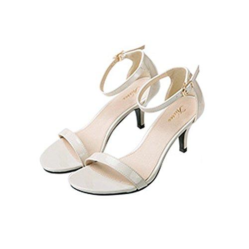 JUMERRYSs007 - Zapatos de tacón  mujer blanco