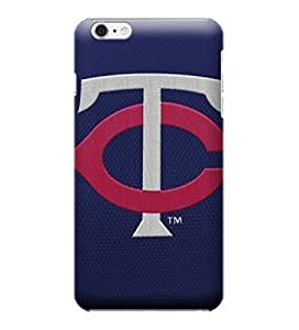 MLB-Twins Embroidery Skin Tough Phone Case Covers,Stylish Protective Covers Compatible For iphone 6(4.7)