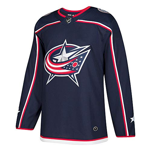 Columbus Blue Jackets Adidas NHL Men's Climalite Authentic Team Hockey Jersey