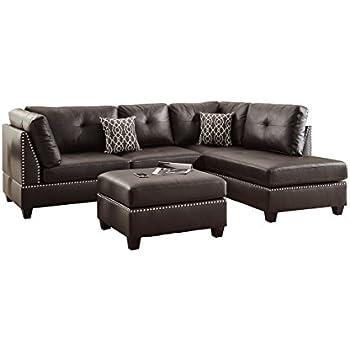 Swell Amazon Com Lifestyle Sectional Sofa Set Kitchen Dining Machost Co Dining Chair Design Ideas Machostcouk
