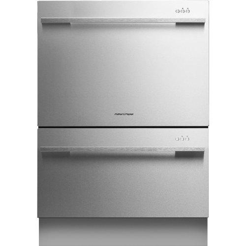DishDrawer DD24DDFTX7 Semi Integrated Dishwasher Adjustable
