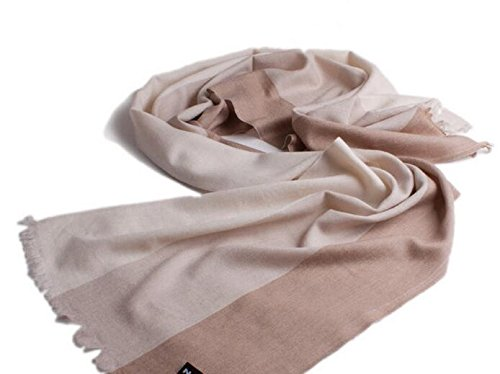 Winter men's thin stripes, European and American cashmere scarves business by KYXXLD