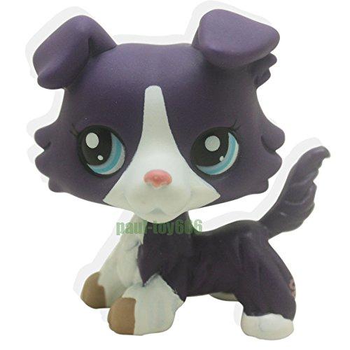 LHJ Littlest Pet Shop Purple Collie Dog Puppy Blue Eyes Figure Gift Toy LPS (Bambi Costume Ebay)