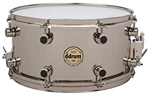 "ddrum VT SD 7X14 NB Vintone Snare, Over Brass, 7"" x 14"", Nickel"