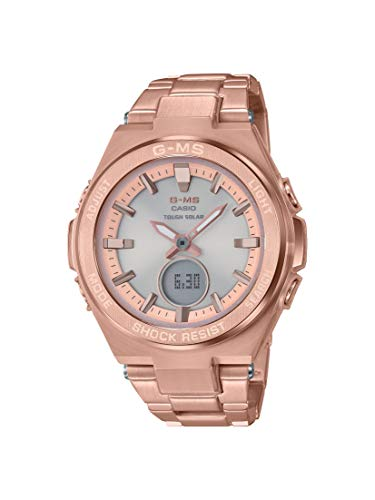 Casio Baby G Grey Dial Stainless Steel Ladies Watch MSG-S200DG-4A (Watch Baby G Dial)