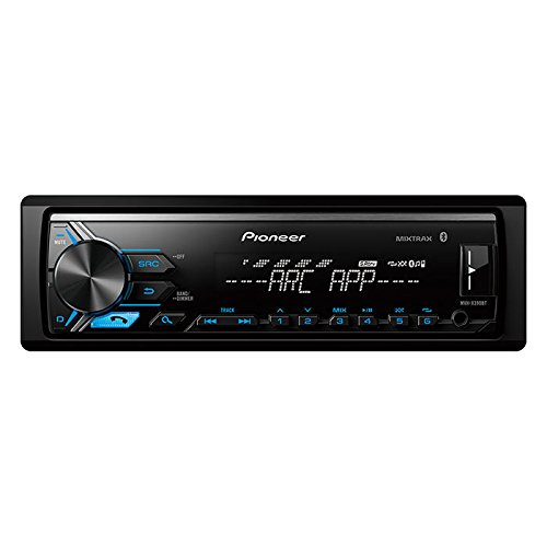 Pioneer MVH-X390BT Vehicle Digital Media Receiver with Pioneer ARC app compatibility,Built-in Bluetooth and USB Direct Control for iPod/iPhone and Certain Android Phones, Black by PIONEER