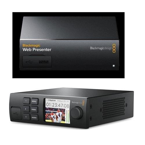 Blackmagic Design Web Presenter - Bundle with Blackmagic Design Teranex Mini Smart Panel by Blackmagic Design