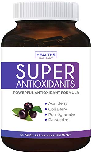 Boost Your Health with Our Natural Antioxidant Blend! Antioxidants are part of every good health conversation thanks to their many benefits. Thankfully, Healths Harmony's Super Antioxidants Supplement makes promoting good health easy! Superfood extra...