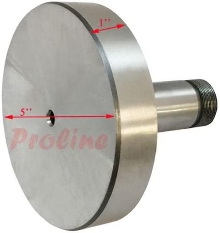 1/'/' x 4/'/' Diameter Precision 5C Fixture Mount Lathe Face Plate Steel Lathing