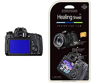 Healing Shield [Anti-Fingerprint] [2PC] LCD Screen Protector for Canon EOS 760D Camera - Japan Base Film