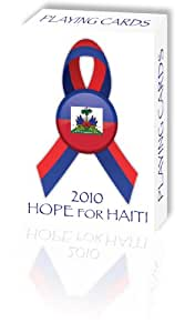 Bicycle 2010 Hope for Haiti Playing Cards