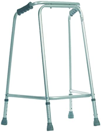 NRS Healthcare Tall Domestic Height Adjustable Walking Frame ...