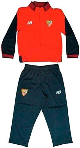 CHANDAL SEVILLA FC 17/18 NIÑO (6-7): Amazon.es: Deportes y aire libre