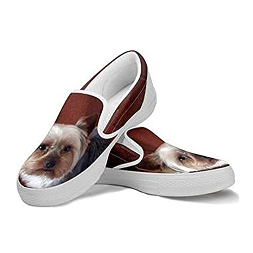 8fb93195f3a356 low-cost Yorkshire Print Slip Ons Shoes For Women - holmedalblikk.no