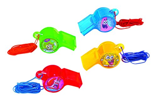 Amscan (Amsdd) Whistle Birthday Party Favour Toy Noisemaker (Piece), 48 by Amscan