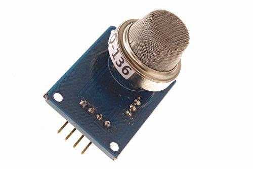 - SMAKN® MQ136 Gas Sensor Hydrogen For Arduino UNO Mega2560 R3 Raspberry Pi