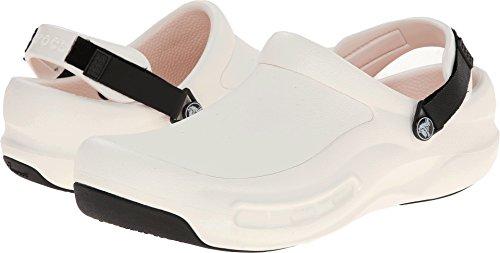 crocs Unisex 15010 Bistro Pro Clog, White, 8 US Men's / 10 US Women's