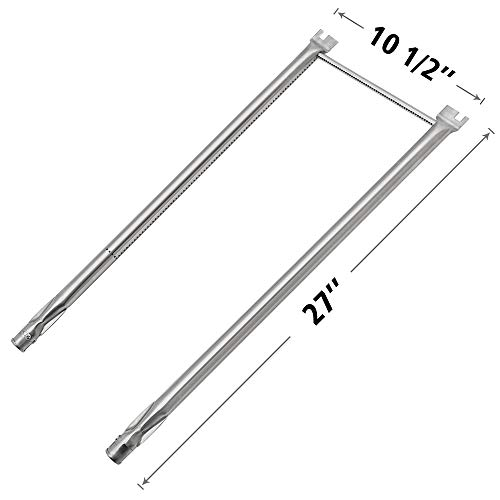 SHINESTAR Burner Tube Set for Weber Genesis Silver A, Genesis Spirit 500, Spirit E-210, E-210NG, Spirit S-210 Replacement Parts(with Side Mounted Control Panels) Stainless Steel Burner Tube - Set Burner Tube