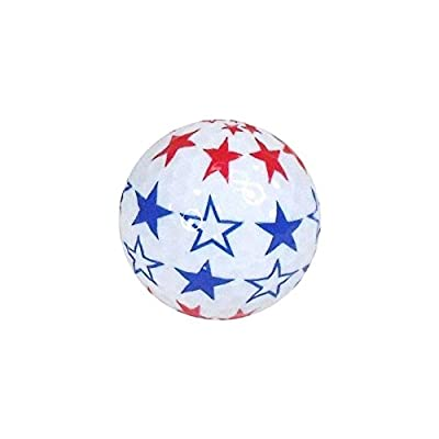 Nitro Novelty Golf Balls Flag 2 Display Tube (3 Pack)
