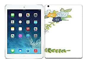 Best Power Best Quotes Z - Floral Letter ipad air Case, HD Colorful ART Cases For your ipad air
