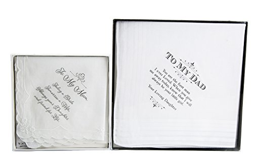 Maven Gifts: Lillian Rose Wedding Hankie 2-Pack Bundle - 7