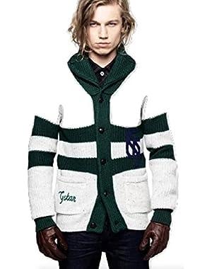 G Star RAW Luxury New Pit Cardigan Knit, Grey Marble, Size XXXL