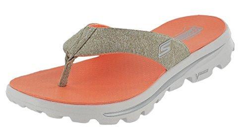 Skechers Go Walk Move Solstice Womens Flip Flop Sandals (11 B(M) US, - Stores Solstice