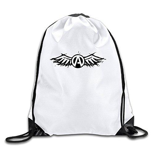 BYDHX Atreyu Gives You Wings Logo Drawstring Backpack Bag - Price Prada Handbag