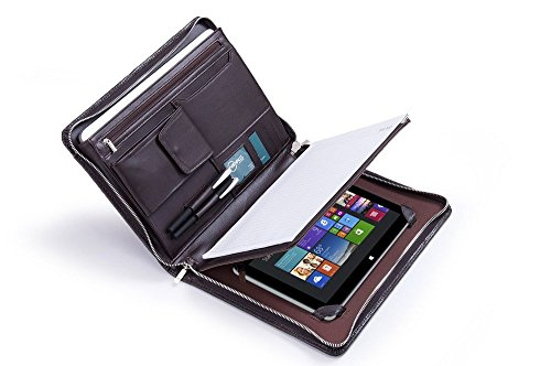 - Deluxe Lizard-Textured Padfolio for Microsoft Surface Pro 3 and Letter / A4 Paper