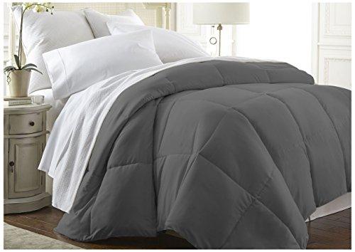 Becky Cameron Down Alternative Comforter, Queen, Gray