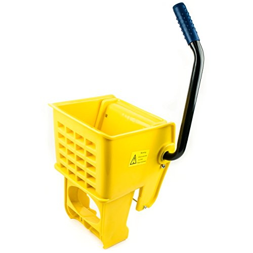 (RK Safety RKMW36-Y Side Press Wringer Replacement for Commercial Mop Bucket 36 qt / 9 gal (Yellow))