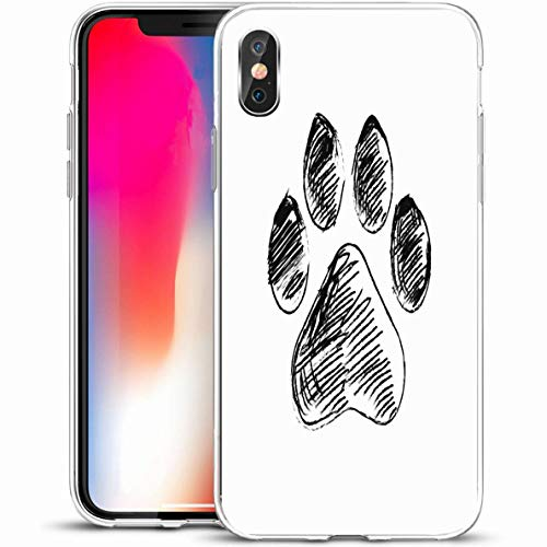 Ahawoso Slim Protective Phone Case for iPhone X/XS 5.8