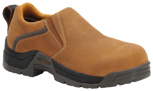 Carolina Oxford (Carolina Women's Crazy Horse Comp Toe/ED/Slip Resistant Slip On Oxford (06.5 M))