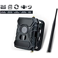 BrickHouse Security B-Link Secure HD 1080P 3G GSM Cellular Outdoor Camera Trail for Game Hunting, Parking Lot, Construction Site, Home Security (Remote Monitoring)