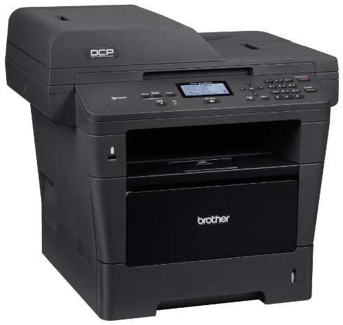 Brother DCP8155DN Monochrome Printer with Scanner and Copier, Amazon Dash Replenishment Enabled