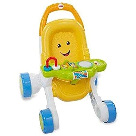 Baby walker Andador, Carrito, ciclomotor, Amarillo.: Amazon ...