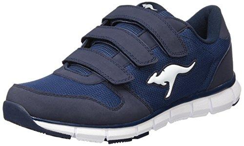 Sneakers Kangaroo Mens - KangaROOS K-bluerun 701 B, Unisex Adults' Low-Top Sneakers, Blue - Blau (Dk Navy/Mid Grey 423), 5 UK (38 EU)