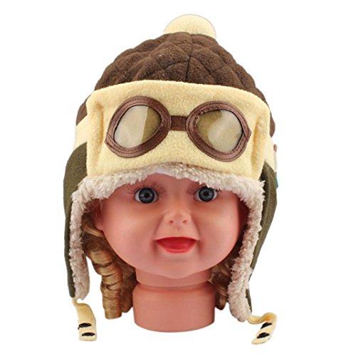 low-cost Vi.yo Gorra caliente del casquillo del sombrero del casquillo del  aviador bee23f98f0d