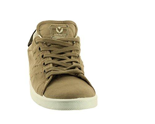 Victoria-Lona tinta stone-zapatillas bajas de tela Gris - gris
