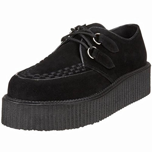 Demonia Suede Platforms - V-creeper-502s, 2