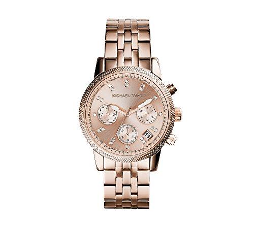 Michael Kors Rose Goldtone Ritz Watch