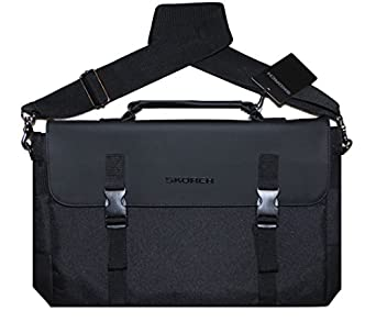 Amazon.com | SKORCH Messenger Bag, Laptop Bag for Men. Extra Long ...