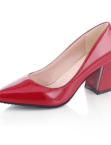 GGX/Damen Heels Frühling/Sommer/Herbst/winterheels/Roller Skate Schuhe/Gladiator/Basic Pumpe/Schuhe und passender light blue-us6.5-7 / eu37 / uk4.5-5 / cn37