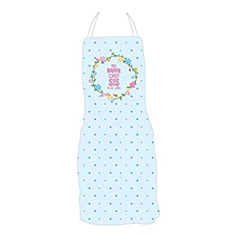 YaYa CafeTM Birthday Gifts For Sister Beautiful Chef Sis Apron Amazonin