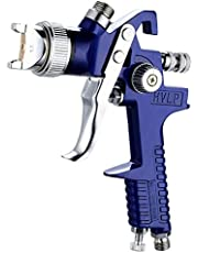 Yatbom Professional HVLP Gravity Feed Air Spray Gun, 1.4mm 1.7mm 2.0mm Nozzles, 600cc Cup with Gauge for Auto Paint, Primer, Clear/Top Coat & Touch-Up