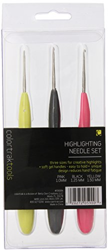 Colortrak Hair Highlighting Needles Multi 3 Count