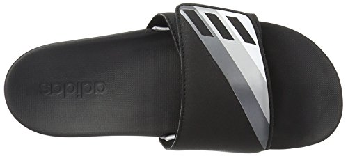 Adidas Performance Adilette Cf Ultra AdjAthletic sandalia Black/Night Metallic/Metallic/Silver