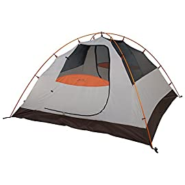 ALPS Mountaineering Lynx 2-Person Tent, Clay/Rust (5224617) 1 There's no assembly frustration with our Lynx Tent series; this free-standing, aluminum two-pole design is a breeze to setup Polyester tent fly resists water and UV damage while adding two vestibules for extra storage space Fully equipped with #8 zippers, storage pockets, gear loft, aluminum stakes, guy ropes and two doorways