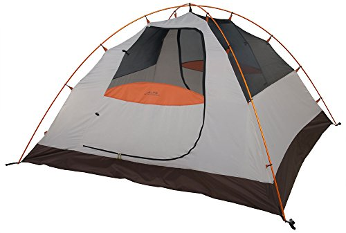 ALPS Mountaineering Lynx 4-Person Tent, Clay/Rust (Best 4 Person Tent For The Money)